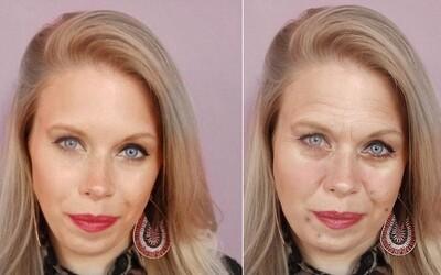 Šokujúce fotografie ukazujú, čo s ľudskou tvárou dokáže urobiť stres
