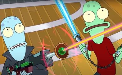 Solar Opposites bude animák, na kterém budeme závislí. Tvůrce Ricka a Mortyho představuje šílený seriál
