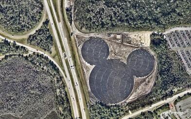 Solární farma, která vypadá jako Mickey Mouse, začne tento rok pohánět Disney World