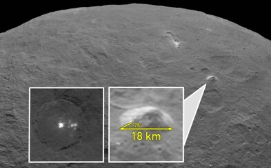 Sonda Dawn sa opäť ohlasuje! Prináša nové snímky planétky Ceres a spolu s nimi aj pozoruhodnú záhadu