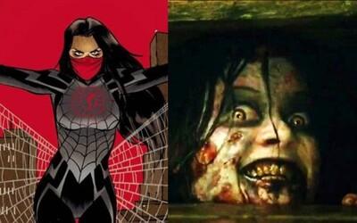 Sony chystá spin-off Spider-Mana so ženskou hrdinkou a režisér hororu Evil Dead nevylúčil možnosť druhého dielu