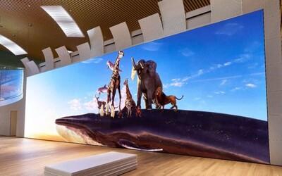 Sony představilo gigantickou 16K televizi větší než autobus