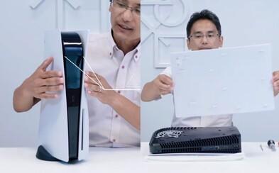 Sony ukázalo vnitřnosti PS5. Konzole bude mít vynikající chlazení, bude nesmírně tichá a budeš si moci vyměnit vnější plast