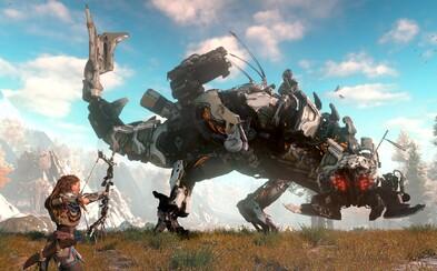 Sony vydalo akčný trailer pre hru o post-apokalyptickom svete, kedy Zem obývajú obrovskí dinoroboti