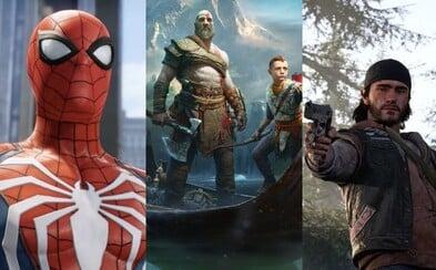 Sony na E3 opět nechalo konkurenci daleko za sebou a ukázalo epicky vypadající hry. Užijte si Spider-Mana, Days Gone nebo velkolepé God of War