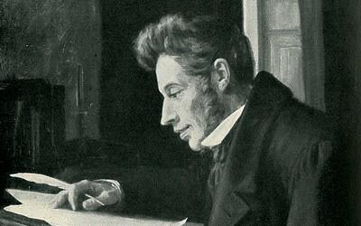Soren Kierkegaard: Temný melancholik, který nevydržel se snoubenkou, což jej deprimovalo po zbytek života