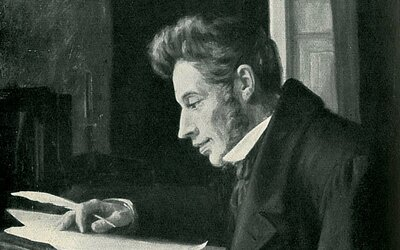 Soren Kierkegaard: Temný melancholik, ktorý nevydržal so snúbenicou, čo ho deprimovalo po zbytok života