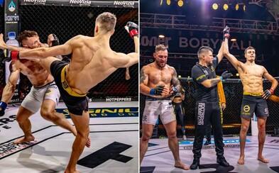 Súboj obrov, korunovácia šampiónky a plno tvrdých ukončení v 1. kole. Oktagon 18 ponúkol fanúšikom MMA ďalšiu skvelú show