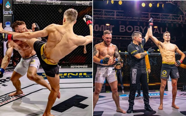 Souboj obrů, korunovace šampionky a plno tvrdých ukončení v 1. kole. Oktagon 18 nabídl MMA fanouškům další skvělou show