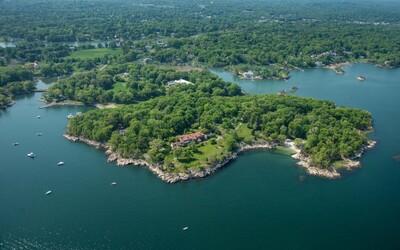 Soukromý ostrov nedaleko New Yorku za 4 miliardy korun se může stát nejdražší nemovitostí v USA