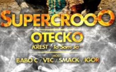 Soutěž o 2x dva lístky na koncert Supercrooo + křest Oteckova alba