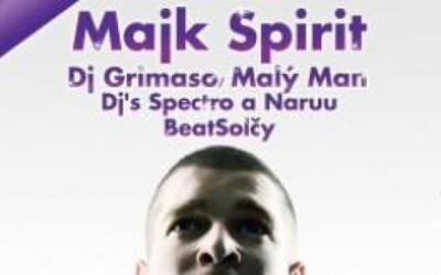 Soutěž o dva lístky na koncert Majka Spirita v Liberci