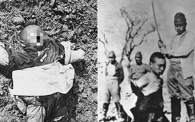 Soutěž v odsekávání hlav a hromadné znásilnění mladých dívek i stařenek. Masakr v Nankingu se podle některých lidí ani nestal