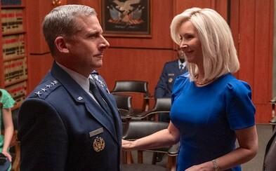 Space Force je nástupcem The Office. Steve Carell v komediálním seriálu vede vesmírné síly USA a paroduje jejich politiku