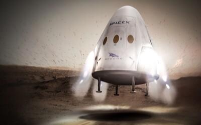 SpaceX ide na Mars. V roku 2018 plánujú vyslať vesmírnu loď Dragon 2 bez živej posádky