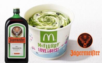 Španělé si budou moci pochutnat na spojení zmrzliny McFlurry s Jägermeisterem. Lákavá kombinace přichází už v listopadu