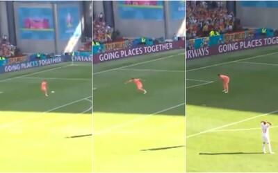Španielsky brankár napodobnil Dúbravku. Kurióznym vlastným gólom sa zapíše do histórie
