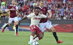 Sparta znovu prohrála první zápas předkola Ligy mistrů. Podlehla Monaku 0:2