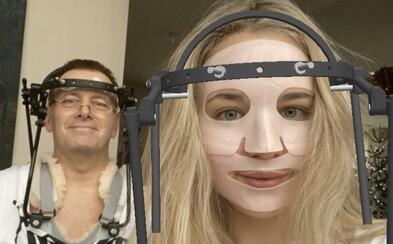 Špeciálny rám okolo hlavy Borisa Kollára si môžeš vyskúšať aj ty. Slovák vytvoril vtipný instagramový filter