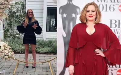 Speváčka Adele oslavuje 32 rokov a vyzerá ako nikdy predtým