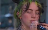 Speváčka Billie Eilish počas koncertu vybuchla smiechom, keď fanúšicka počas vystúpenia reagovala na text skladby