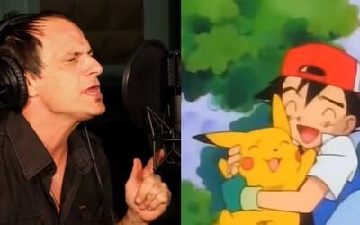 Spevák úvodnej znelky z Pokémona sa po rokoch vrátil do štúdia, aby jeho výkon zvečnili na videu