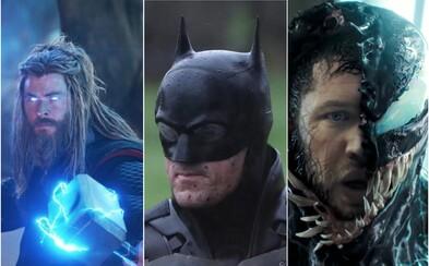 Spider-Man 3, Batman či Thor. Na ktoré komiksové filmy, ktoré v kinách uvidíme do konca roka 2020, sa tešíme najviac?