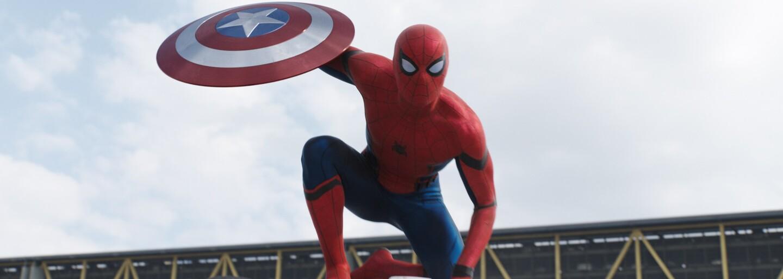 Spider-Man nám okrem selfie posiela kopu nových fotografií z nakrúcania