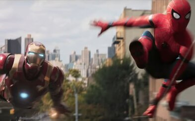 Spider-Man po boku s Iron Manom bojuje so zloduchmi v úžasnom debutovom traileri pre veľkolepý návrat postavy do sveta Marvelu