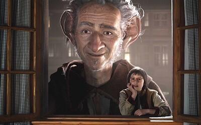 Spielberg a Disney sľubujú v najnovších záberoch pre fantasy dobrodružstvo úžasné priateľstvo obra a človeka