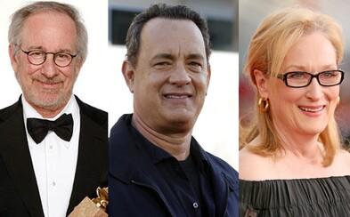 Spielbergov najnovší film s Tomom Hanksom a Meryl Streep odhalí nekalé praktiky americkej vlády