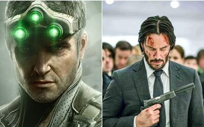 Splinter Cell se dočká anime na Netflixu. Seriál vytvoří scenárista Johna Wicka