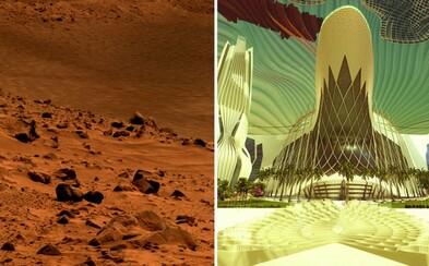 Spojené arabské emiráty postavia do roku 2117 veľkomesto na Marse. Bude v ňom žiť 600-tisíc ľudí a na svete sú už aj prvé vizualizácie