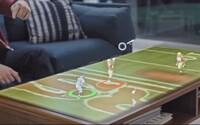 Spojenie HoloLens a športových prenosov vyzerá úžasne. Hráči budú stáť priamo vo vašej obývačke