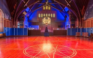 Spoločnosť Nike premenila kostol v Chicagu na basketbalovú halu