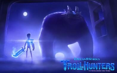 Spolupráca Guillerma del Tora a DreamWorks prinesie na Netflix animovaný seriál Trollhunters