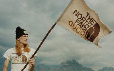 Spolupráce mezi Gucci a The North Face je ódou na sportovní módu ze 70. let