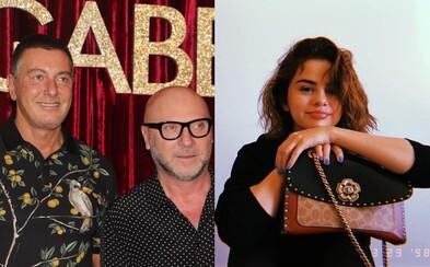 Spoluzakladateľ Dolce & Gabbana urazil Selenu Gomez. Hodnota ich spoločnosti okamžite klesla o 60%