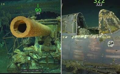 Spoluzakladatel Microsoftu objevil gigantický vrak lodi z druhé světové války. Spolu s ní se potopilo i 216 členů posádky