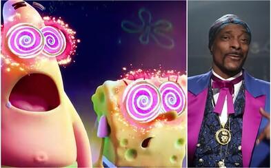 SpongeBob sa v novom filme stretáva so Snoop Doggom a Keanu Reevesom