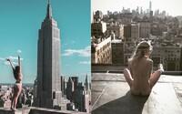 Sporo odeté modelky  v kombinácii s panorámou New Yorku? Japonský fotograf presne vie, ako ľudí zaujať