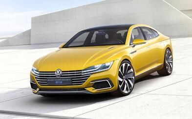 Sport Coupe GTE Concept: Volkswagen oficiálne odhalil 380-koňovú predzvesť štýlového CC-čka