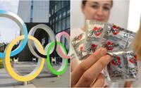 Sportovci dostanou na olympiádě v Tokiu 160 tisíc kondomů. Použít je mohou až doma
