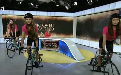 Športovec roka 2020 na RTVS: Bizarný tanček komparzistiek na bicykloch v štúdiu pripomínal sexizmus ako z minulého storočia