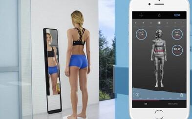 Spôsobí nové hi-tech zrkadlo, ktoré sleduje fyzické zmeny našej postavy revolúciu vo fitness svete?