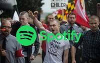 Spotify odstraňuje kapely hlásající nadřazenost bílé rasy. Rasistické skladby tam nemají své místo