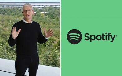 Spotify sa nepáči nová služba Apple One. Narúša vraj konkurenčné prostredie a zvýhodňuje vlastné produkty firmy
