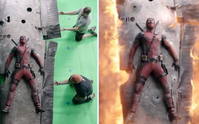 Spoza kamier: Ako vyzeral Deadpool pred pridaním efektov a akú tŕnistú cestu prekonal, kým sa dostal kín?