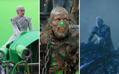 Spoza kamier: Za oponou veľkolepých momentov, dychberúcich efektov a zaujímavých faktov z natáčania siedmej série Game of Thrones
