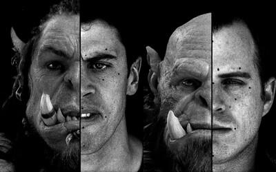 Spoznajte tváre ľudí, ktorí hrajú Orcov a zistite, ako prebiehalo epické natáčanie Warcraftu